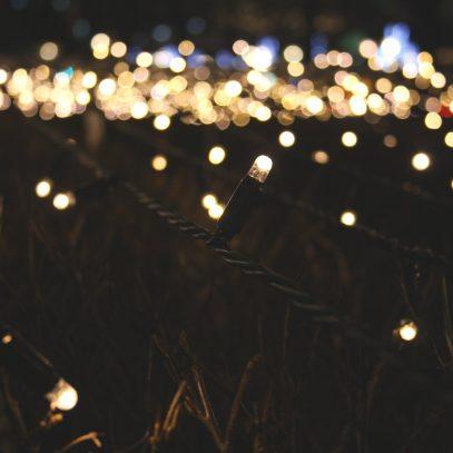 Een wereld vol twinkelende lichtjes